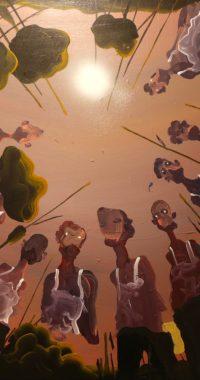 Simon Fensholm - 'We below' - 60x50 cm